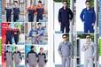 湖北工作服定制,夏季短袖工服批發,純棉防靜電工服廠家