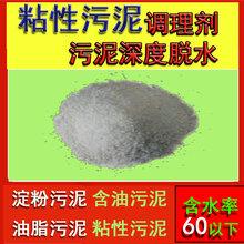 含粘性污泥处理剂有粘性的污泥处理调理剂脱水剂图片