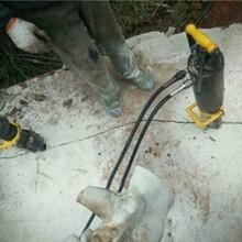 福州仓山修建铁路破碎石头分裂机设备图片