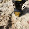 岩石劈裂机挖地基