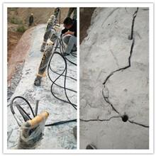 云南西雙版納開采石料場巖石靜態爆破設備采石棒廠家報價圖片