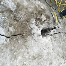 湖南岳陽靜態爆破設備破堅石頭哪家強圖片