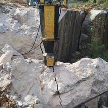 河北邯鄲破石頭靜態爆破設備銷售廠家圖片