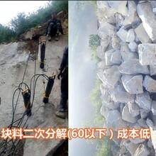 湖北武汉静态爆破设备混凝土路面劈裂棒咨询电话图片