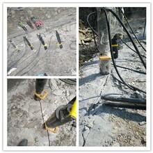 广西壮族自治梧州静态爆破设备破坚石头咨询电话图片