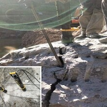西藏自治阿里矿山开采岩石静态爆破设备顶石棒销售厂家图片
