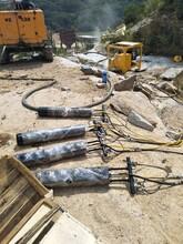 吉林白城开采石料场岩石静态爆破设备采石棒多少钱图片