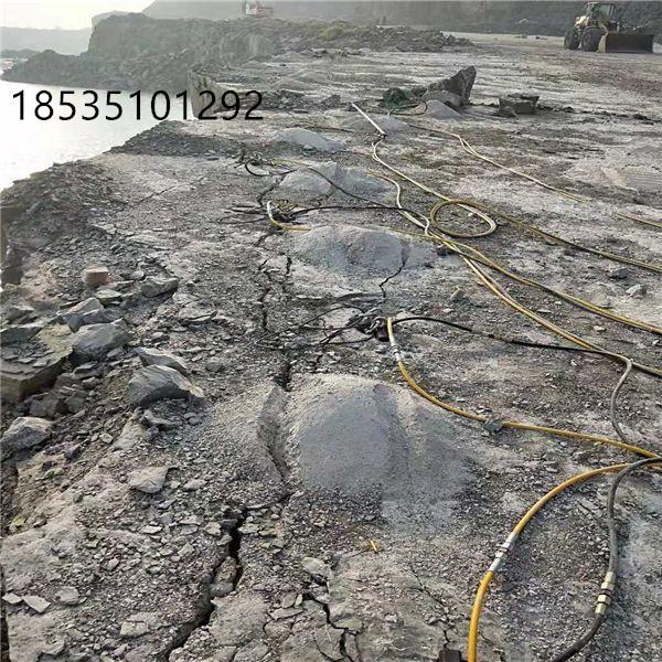 黑龍江大興安嶺風化巖石開采手持式劈裂設備哪里有賣
