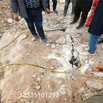 黑龍江大興安嶺無需放炮代替人工的打石設備咨詢電話