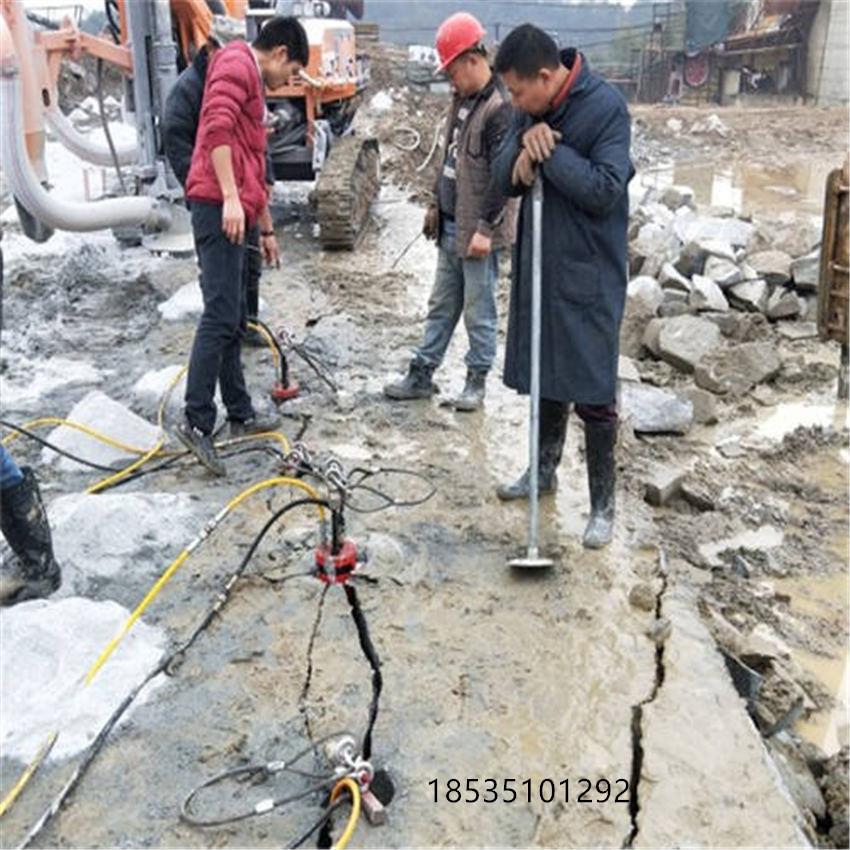 廣西壯族自治河池大型機載液壓劈裂機制造廠家