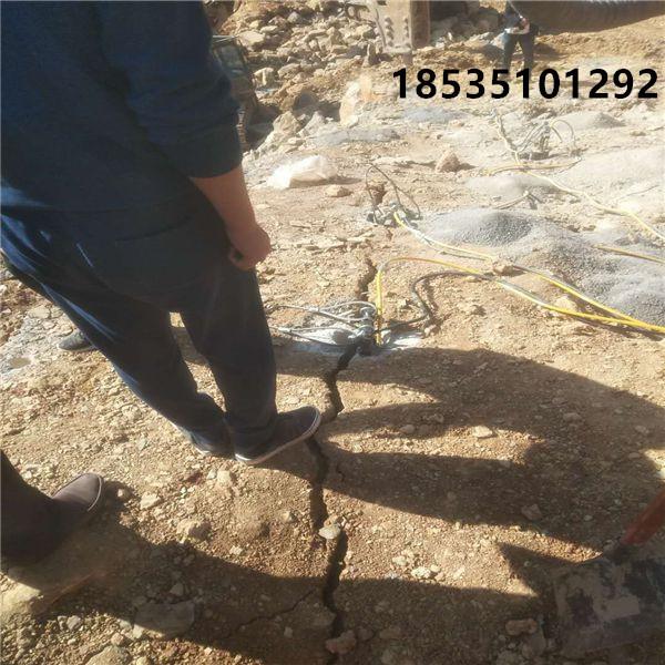 四川达州液压棒破碎岩石厂家供应