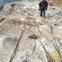 河南許昌混凝土破拆劈裂機撐石機廠家直銷圖片