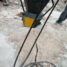 山东济南矿山大型岩石劈裂设备厂家报价图片