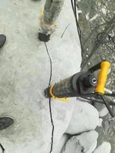 廣西壯族自治貴港柱塞式大型液壓劈裂棒廠家報價圖片