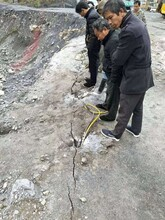 湖南岳阳岩石破石器大理石劈裂棒厂家电话图片