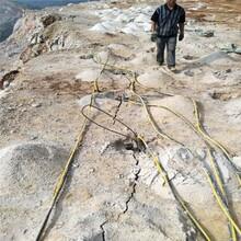 云南普洱大型礦山破石專用劈裂棒廠家價格圖片