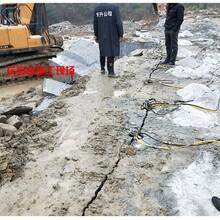 山东日照开水渠劈裂机使用哪家专业图片