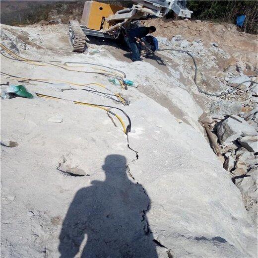 廣西巖石解體電動分裂機劈裂機