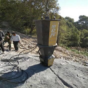 吉林大型矿山开采劈裂机劈裂机