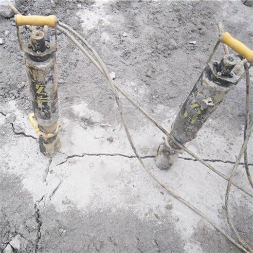 防爆電動巖石分裂機劈裂機,開山機