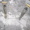 柴油驱动大型岩石分裂机劈裂机,裂石机
