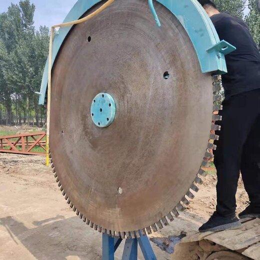 黑龙江路面切割锯岩石锯,挖机改装岩石锯
