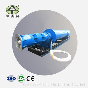 QJW卧式潜水泵_高压耐高温_铸铁材质