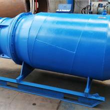 天津奥特泵业卧用下吸雪橇式潜水轴流泵图片