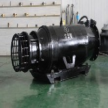 大口径雪橇式轴流泵_斜拉式安装_大功率大流量图片