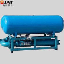 卧式潜水泵_快速排水专用浮筒式潜水泵_大流量漂浮式取水泵图片