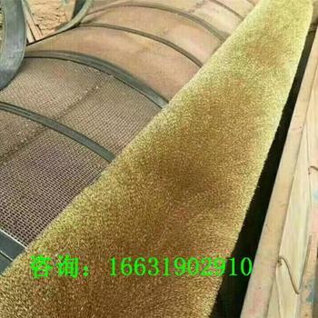 廠家生產磚機篩網防堵眼鋼絲彈簧刷滾筒篩網鋼絲刷輥