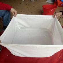 pvc环保帆布水池养殖鱼池价格定做图片