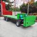 厂家直销电动平板四轮车四轮电动货车6米长工厂电动搬运平板