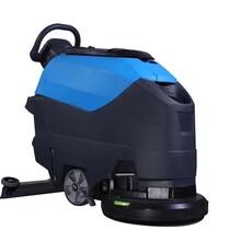 赤峰手推洗地机、手推洗地机、商用洗地机、电瓶洗地机图片