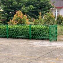 新農村園林不銹鋼仿竹木護欄景區別墅仿竹節籬笆柵欄圖片