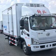 河南濮阳哪里有卖解放J6F蓝牌冷藏车多少钱