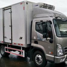 贵州六盘水哪里有卖蓝牌现代盛图冷藏车多少钱