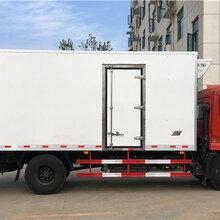 安徽安庆哪里有卖东风天锦对接式肉钩冷藏车多少钱