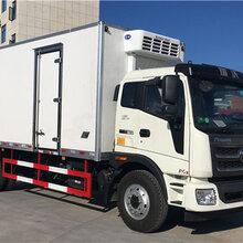 广西柳州哪里有卖福田瑞沃6.8米冷藏车多少钱