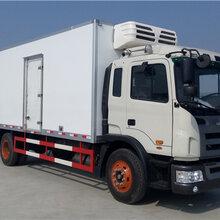 河南安阳哪里有卖江淮格尔发7.6米冷藏车多少钱
