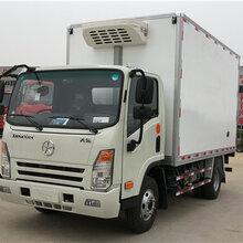安徽阜阳哪里有厂家直销蓝牌大运排半冷藏车