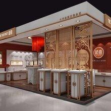 红喜珠宝展示柜不锈钢翡翠玉石展柜木制烤漆展示柜