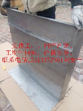定做数控机床加工?#34892;牡?#36712;钢板防护罩CNC不锈钢板外壳伸缩式钣金图片