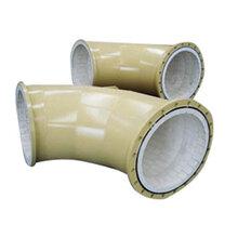 耐磨弯头、三通、四通、异径管耐腐蚀厂家直销图片