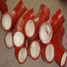 巴彦淖尔陶瓷贴片耐磨弯头耐磨三通技术先进图片