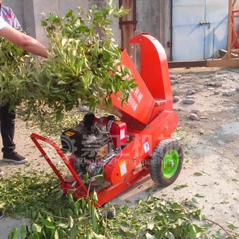 新型多功能樹枝粉碎機現場供應高產量樹枝粉碎機價格