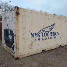 集裝箱尺寸別名凍柜冷凍集裝箱冷藏冷凍集裝箱圖片
