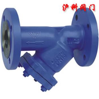 GL41H法蘭連接鐵制Y型過濾器批發