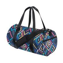 運動包圓筒游泳健身包單肩旅行包行李袋跆拳道圓桶包可來圖定制圖片