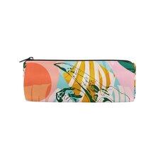 厂家直销定制创意时尚圆桶铅笔包学生笔袋工作笔袋化妆包